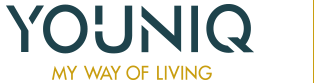 YOUNIQ – My way of living Logo